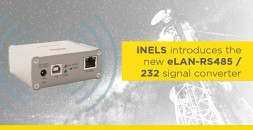iNELS introduces the new eLAN-RS485 / 232 signal converter photo