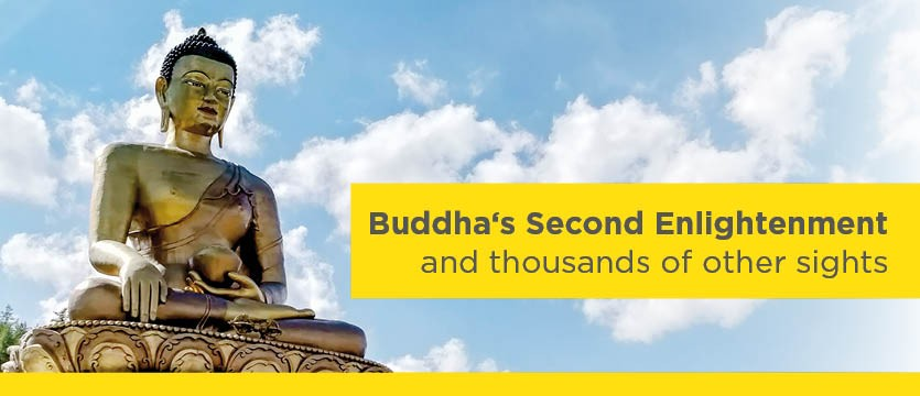 Buddha's Second Enlightenment and thousands of other sights. photo