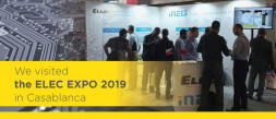 We visited the ELEC EXPO 2019 in Casablanca photo