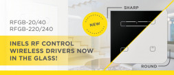 INELS RF Control wireless drivers now in the glass! photo