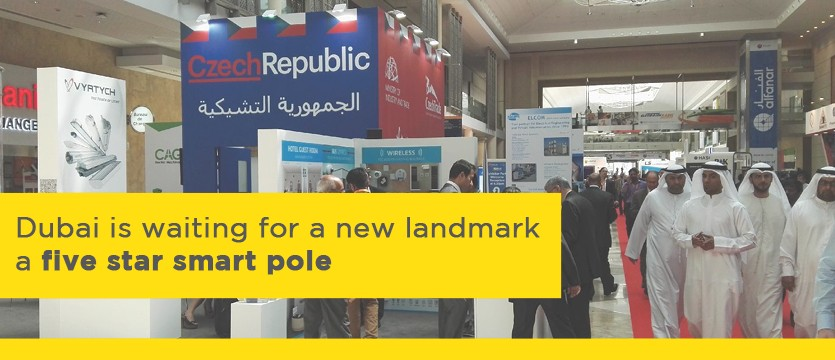 Dubai is waiting for a new landmark – a five star smart pole