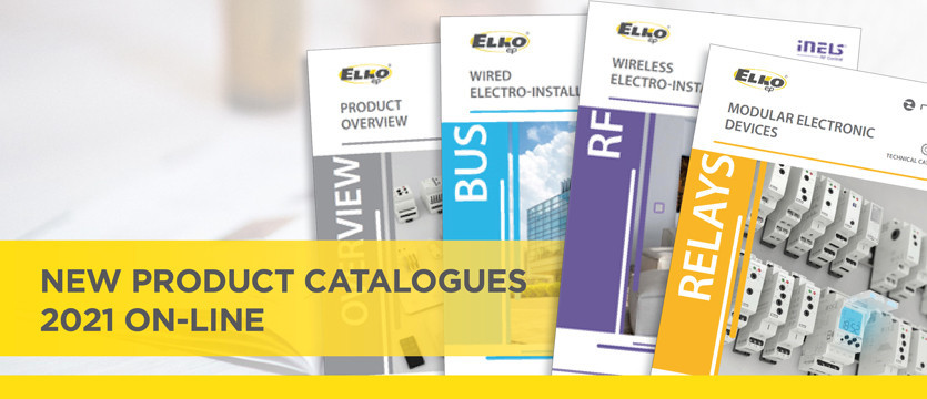 New product catalogues 2021 on-line